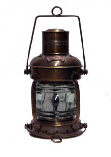 Antique Lantern 13 Quot Ship S Nautical Oil Lamp